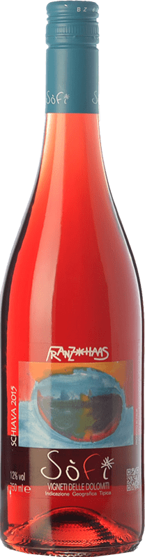 12,95 € Free Shipping | Red wine Franz Haas Sofi I.G.T. Vigneti delle Dolomiti Trentino Italy Schiava Bottle 75 cl