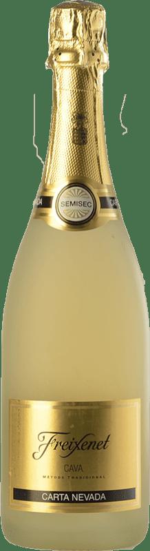 5,95 € Free Shipping   White sparkling Freixenet Carta Nevada Semi Dry D.O. Cava Catalonia Spain Macabeo, Xarel·lo, Parellada Bottle 75 cl