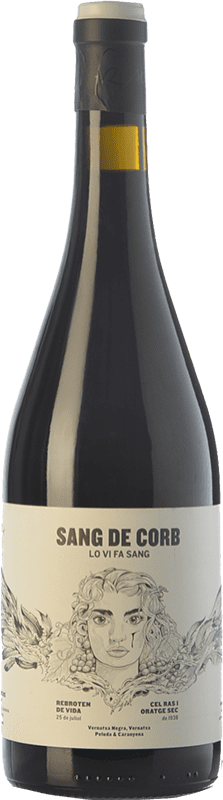 21,95 € Envoi gratuit | Vin rouge Frisach Sang de Corb Negre Crianza D.O. Terra Alta Catalogne Espagne Grenache, Carignan, Grenache Poilu Bouteille 75 cl