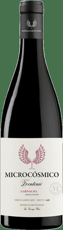 14,95 € Envío gratis | Vino tinto Frontonio Microcósmico Crianza I.G.P. Vino de la Tierra de Valdejalón Aragón España Garnacha Botella 75 cl