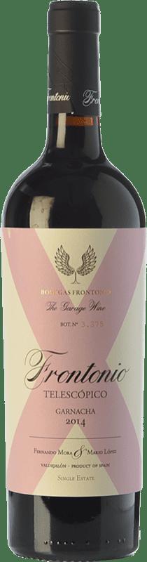 19,95 € Envío gratis | Vino tinto Frontonio Telescópico Crianza I.G.P. Vino de la Tierra de Valdejalón Aragón España Garnacha Botella 75 cl