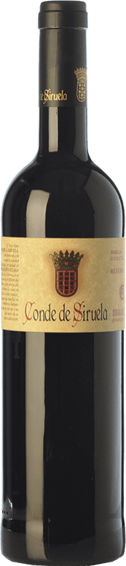 24,95 € | Red wine Frutos Villar Conde Siruela Reserva D.O. Ribera del Duero Castilla y León Spain Tempranillo Bottle 75 cl