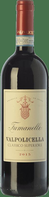 14,95 € | Red wine Fumanelli Classico Superiore D.O.C. Valpolicella Veneto Italy Corvina, Rondinella, Corvinone Bottle 75 cl