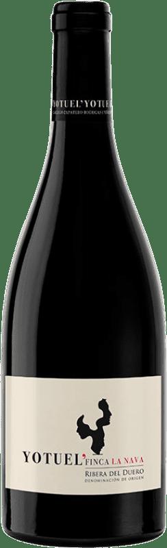 33,95 € | Red wine Gallego Zapatero Yotuel Finca La Nava Crianza D.O. Ribera del Duero Castilla y León Spain Tempranillo Bottle 75 cl