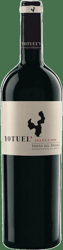 18,95 € | Red wine Gallego Zapatero Yotuel Selección Crianza D.O. Ribera del Duero Castilla y León Spain Tempranillo Bottle 75 cl