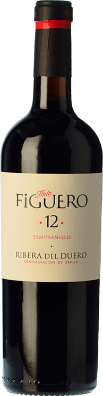 18,95 € Envoi gratuit   Vin rouge Figuero 12 Meses Crianza D.O. Ribera del Duero Castille et Leon Espagne Tempranillo Bouteille 75 cl