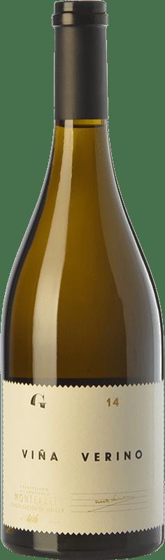 52,95 € | White wine Gargalo Viña Verino Crianza D.O. Monterrei Galicia Spain Godello Bottle 75 cl