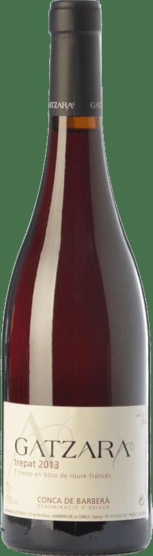 15,95 € | Red wine Gatzara Trepat de Bóta Joven D.O. Conca de Barberà Catalonia Spain Trepat Bottle 75 cl