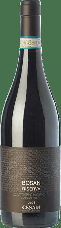 81,95 € Free Shipping | Red wine Cesari Bosan 2008 D.O.C.G. Amarone della Valpolicella Veneto Italy Corvina, Rondinella Bottle 75 cl