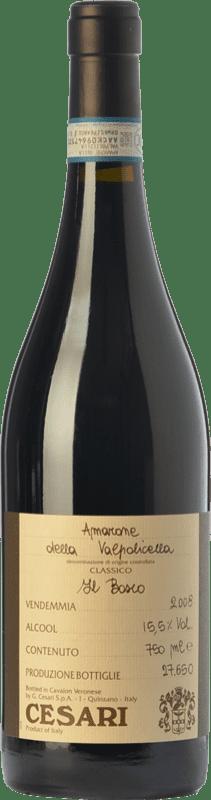 55,95 € Free Shipping | Red wine Cesari Il Bosco D.O.C.G. Amarone della Valpolicella Veneto Italy Corvina, Rondinella Bottle 75 cl