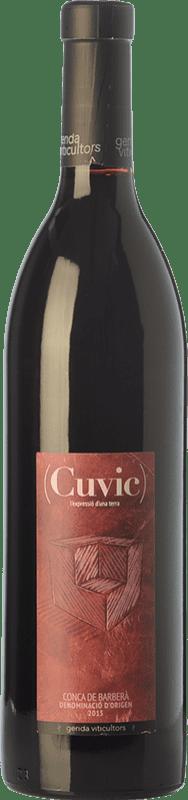 11,95 € | Red wine Gerida Cuvic Crianza D.O. Conca de Barberà Catalonia Spain Tempranillo, Syrah, Cabernet Franc Bottle 75 cl