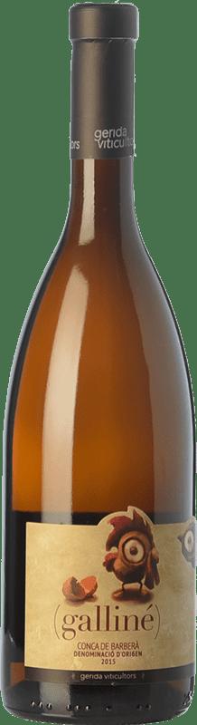 7,95 € | White wine Gerida Galliné D.O. Conca de Barberà Catalonia Spain Parellada, Muscatel Small Grain Bottle 75 cl