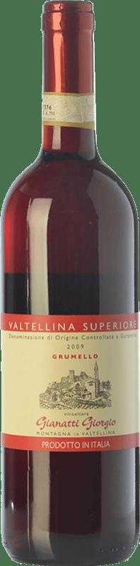 21,95 € | Red wine Gianatti Giorgio Grumello D.O.C.G. Valtellina Superiore Lombardia Italy Nebbiolo Bottle 75 cl