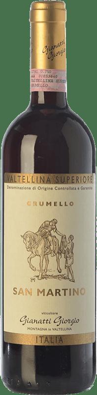 31,95 € | Red wine Gianatti Giorgio Grumello San Martino D.O.C.G. Valtellina Superiore Lombardia Italy Nebbiolo Bottle 75 cl