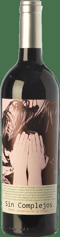 7,95 € 免费送货 | 红酒 Gil Luna Sin Complejos Joven D.O. Toro 卡斯蒂利亚莱昂 西班牙 Tempranillo 瓶子 75 cl