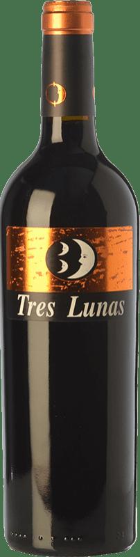 12,95 € 免费送货 | 红酒 Gil Luna Tres Lunas Crianza D.O. Toro 卡斯蒂利亚莱昂 西班牙 Tinta de Toro 瓶子 75 cl