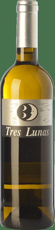7,95 € 免费送货 | 白酒 Gil Luna Tres Lunas D.O. Toro 卡斯蒂利亚莱昂 西班牙 Verdejo 瓶子 75 cl
