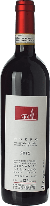 12,95 € Free Shipping | Red wine Giovanni Almondo D.O.C.G. Roero Piemonte Italy Nebbiolo Bottle 75 cl