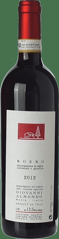 12,95 € | Red wine Giovanni Almondo D.O.C.G. Roero Piemonte Italy Nebbiolo Bottle 75 cl