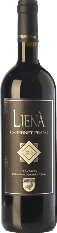 59,95 € Free Shipping | Red wine Chiappini Lienà I.G.T. Toscana Tuscany Italy Cabernet Franc Bottle 75 cl