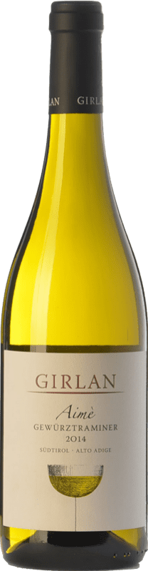 16,95 € 免费送货 | 白酒 Girlan Aimè D.O.C. Alto Adige 特伦蒂诺 - 上阿迪杰 意大利 Gewürztraminer 瓶子 75 cl