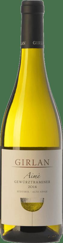 16,95 € Envoi gratuit | Vin blanc Girlan Aimè D.O.C. Alto Adige Trentin-Haut-Adige Italie Gewürztraminer Bouteille 75 cl