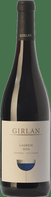15,95 € 免费送货 | 红酒 Girlan D.O.C. Alto Adige 特伦蒂诺 - 上阿迪杰 意大利 Lagrein 瓶子 75 cl