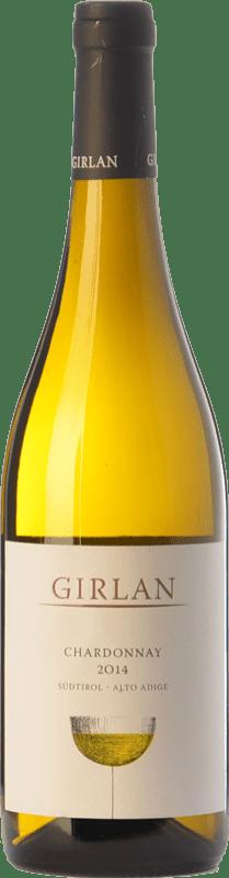 13,95 € 免费送货 | 白酒 Girlan D.O.C. Alto Adige 特伦蒂诺 - 上阿迪杰 意大利 Chardonnay 瓶子 75 cl