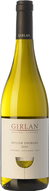 11,95 € Free Shipping | White wine Girlan D.O.C. Alto Adige Trentino-Alto Adige Italy Müller-Thurgau Bottle 75 cl