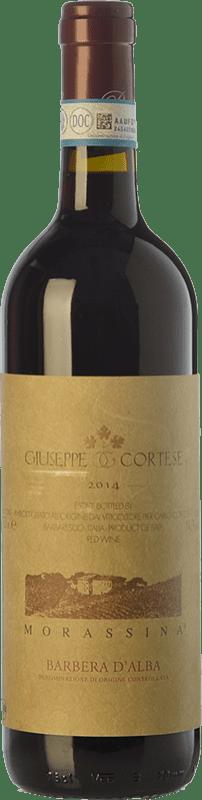 19,95 € | Red wine Giuseppe Cortese Morassina D.O.C. Barbera d'Alba Piemonte Italy Barbera Bottle 75 cl