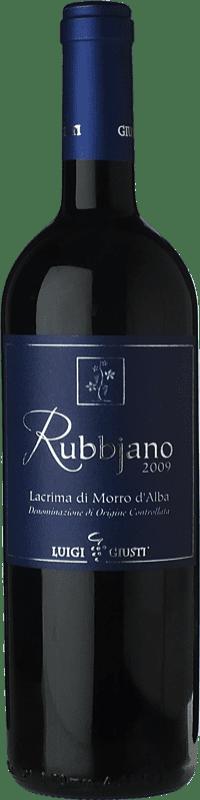 18,95 € Free Shipping | Red wine Giusti Piergiovanni Rubbjano D.O.C. Lacrima di Morro d'Alba Marche Italy Lacrima Bottle 75 cl