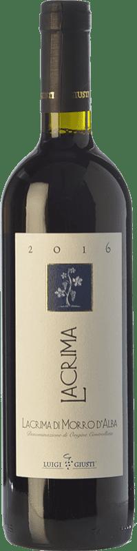 13,95 € Free Shipping | Red wine Giusti Piergiovanni D.O.C. Lacrima di Morro d'Alba Marche Italy Lacrima Bottle 75 cl