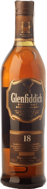 71,95 € | Whisky Single Malt Glenfiddich 18 Speyside United Kingdom Bottle 70 cl