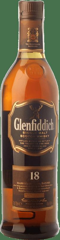71,95 € Free Shipping | Whisky Single Malt Glenfiddich 18 Speyside United Kingdom Bottle 70 cl