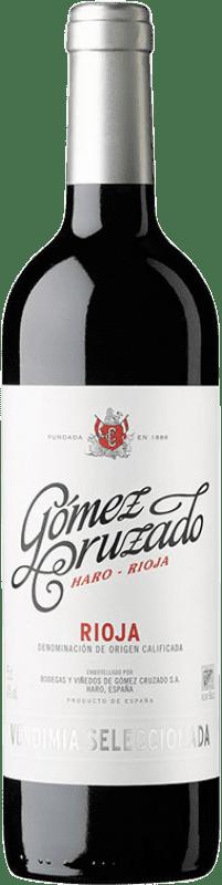 13,95 € 免费送货 | 红酒 Gómez Cruzado Vendimia Seleccionada Joven D.O.Ca. Rioja 拉里奥哈 西班牙 Tempranillo, Grenache 瓶子 75 cl