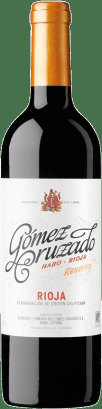 21,95 € Envoi gratuit | Vin rouge Gómez Cruzado Reserva D.O.Ca. Rioja La Rioja Espagne Tempranillo Bouteille 75 cl