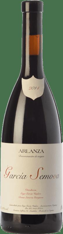 15,95 € | Red wine García Viadero García Semova Joven D.O. Arlanza Castilla y León Spain Tempranillo, Albillo Bottle 75 cl