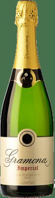 23,95 € Kostenloser Versand | Weißer Sekt Gramona Imperial Gran Reserva D.O. Cava Katalonien Spanien Macabeo, Xarel·lo, Chardonnay Flasche 75 cl