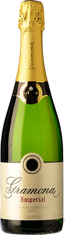 23,95 € Free Shipping | White sparkling Gramona Imperial Gran Reserva D.O. Cava Catalonia Spain Macabeo, Xarel·lo, Chardonnay Bottle 75 cl