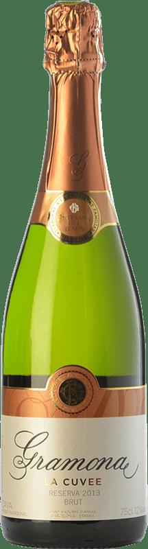 14,95 € Free Shipping | White sparkling Gramona La Cuvée Brut Reserva D.O. Cava Catalonia Spain Macabeo, Xarel·lo Bottle 75 cl