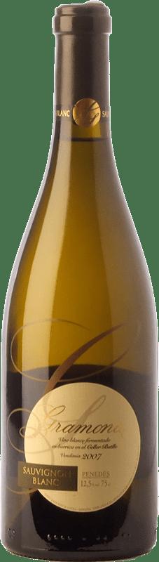 19,95 € Free Shipping | White wine Gramona Crianza D.O. Penedès Catalonia Spain Sauvignon White Bottle 75 cl