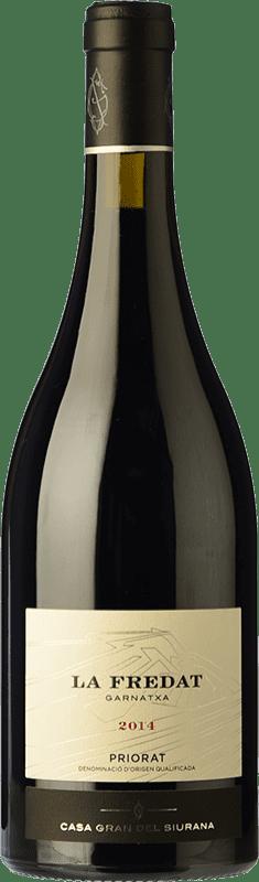 28,95 € Envío gratis | Vino tinto Gran del Siurana La Fredat Crianza D.O.Ca. Priorat Cataluña España Garnacha Botella 75 cl