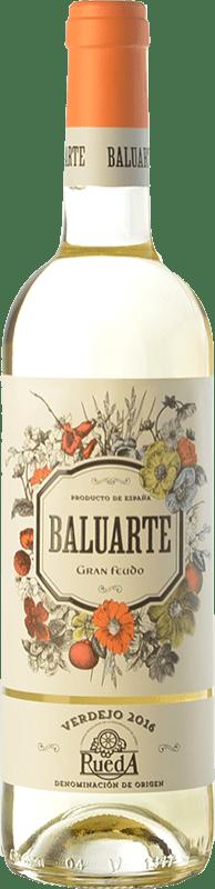 8,95 € Free Shipping | White wine Gran Feudo Baluarte D.O. Rueda Castilla y León Spain Verdejo Bottle 75 cl