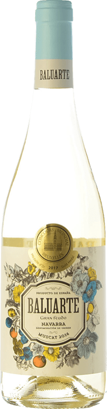 7,95 € Envío gratis   Vino blanco Gran Feudo Baluarte Muscat D.O. Navarra Navarra España Moscatel Botella 75 cl