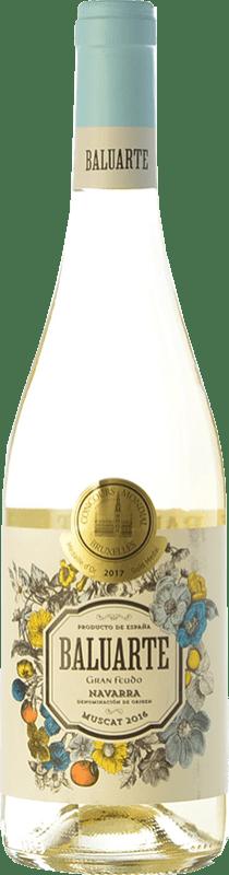7,95 € Free Shipping | White wine Gran Feudo Baluarte Muscat D.O. Navarra Navarre Spain Muscatel Bottle 75 cl