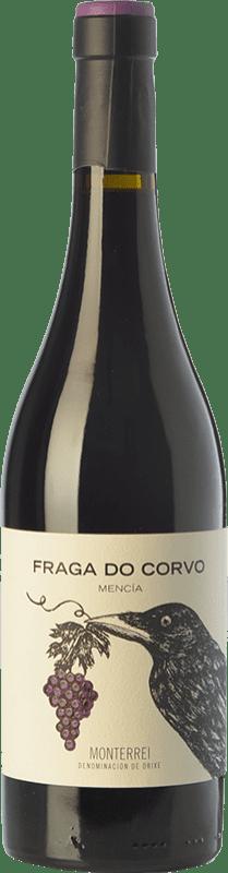 13,95 € Free Shipping | Red wine Pagos Gallegos Fraga Do Corvo Joven D.O. Monterrei Galicia Spain Mencía Bottle 75 cl
