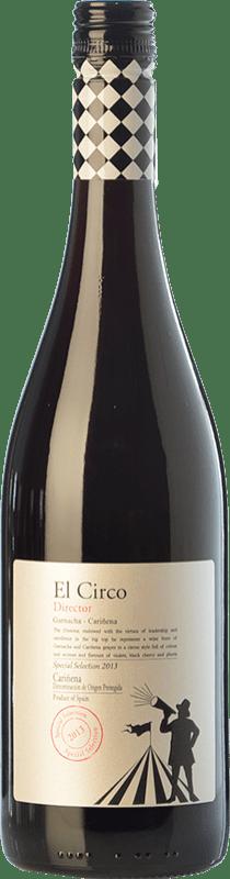 6,95 € 免费送货 | 红酒 Grandes Vinos El Circo Director Joven D.O. Cariñena 阿拉贡 西班牙 Grenache, Carignan 瓶子 75 cl