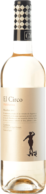 4,95 € | White wine Grandes Vinos El Circo Malabarista Joven D.O. Cariñena Aragon Spain Macabeo Bottle 75 cl