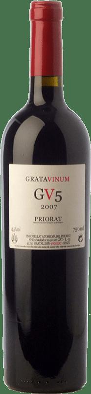 53,95 € | Red wine Gratavinum GV5 Joven 2010 D.O.Ca. Priorat Catalonia Spain Grenache, Cabernet Sauvignon, Carignan Bottle 75 cl