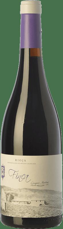 15,95 € | Red wine Gregorio Martínez Finca Crianza D.O.Ca. Rioja The Rioja Spain Tempranillo Bottle 75 cl